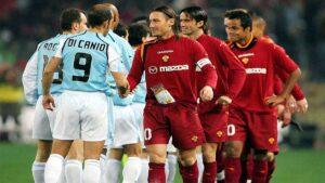 di canio e totti derby di roma