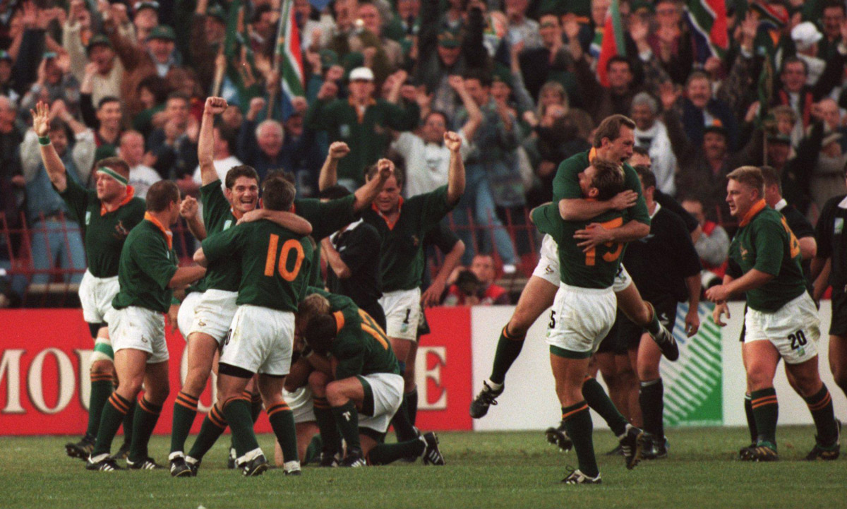 sud africa mondiali rugby 1995