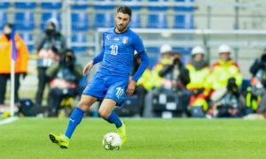 vincenzo grifo esordio nazionale italiana