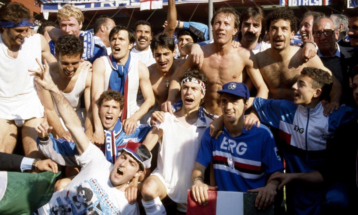 sampdoria 90 91