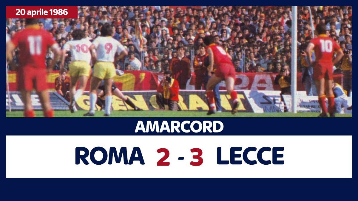 roma lecce 2-3