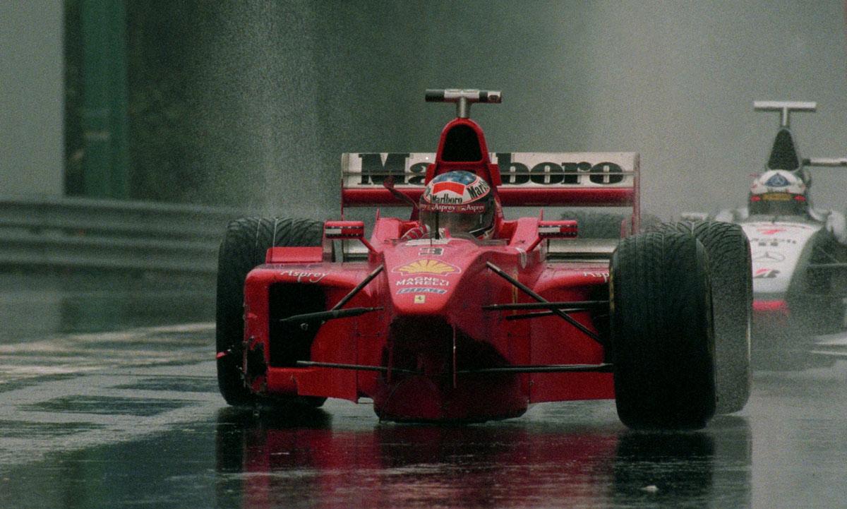 schumacher coulthard spa 1998