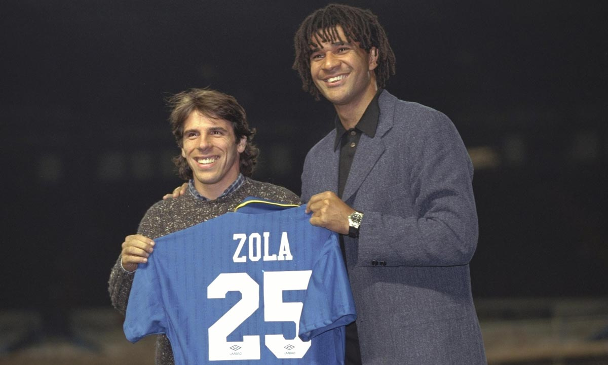 Zola al chelsea