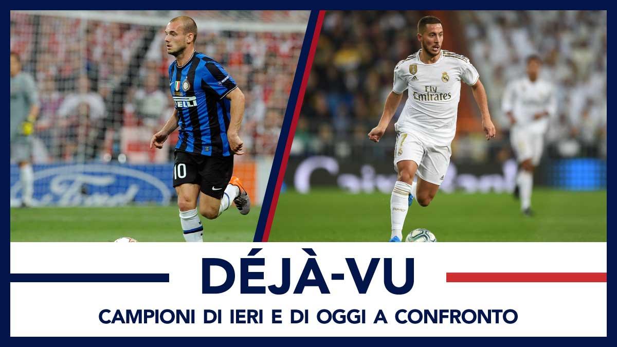 Sneijder contro hazard