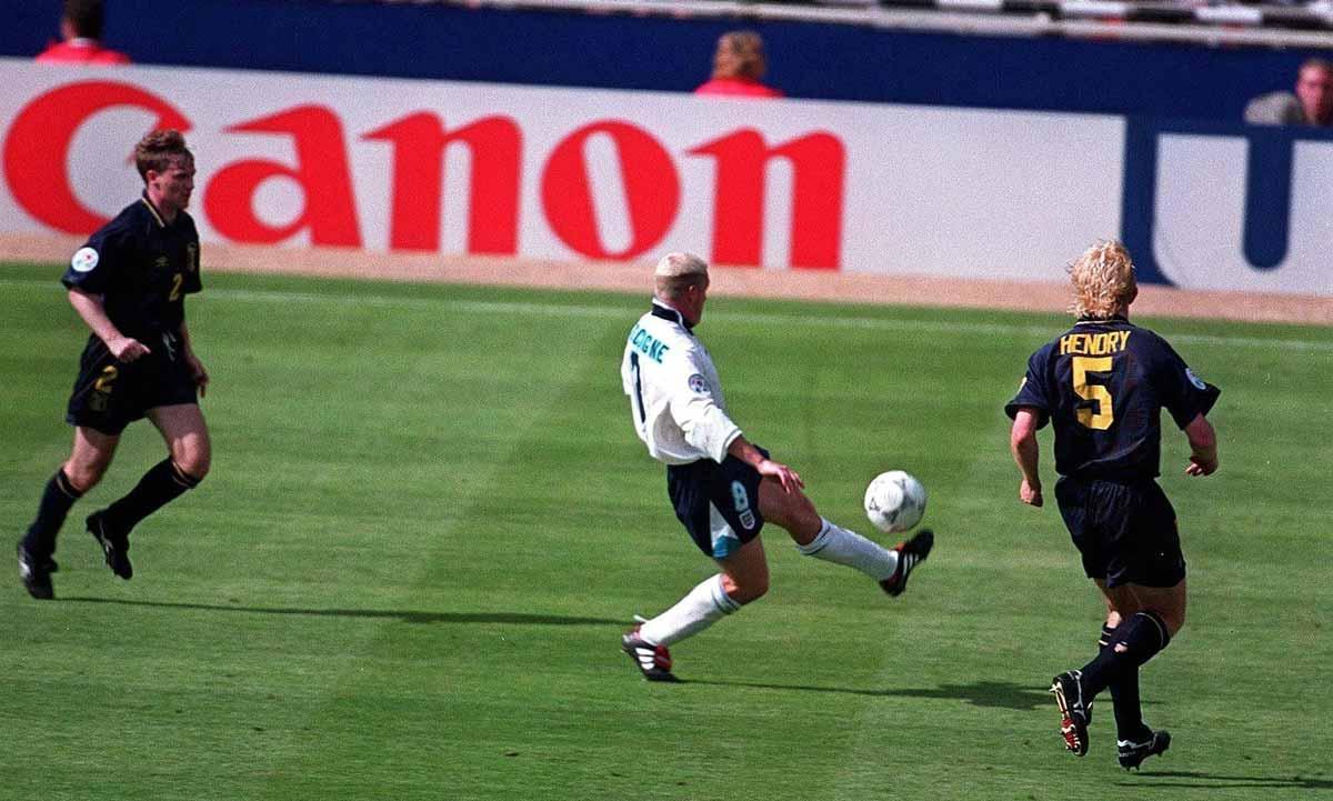 gol gascoigne vs scozia euro 96