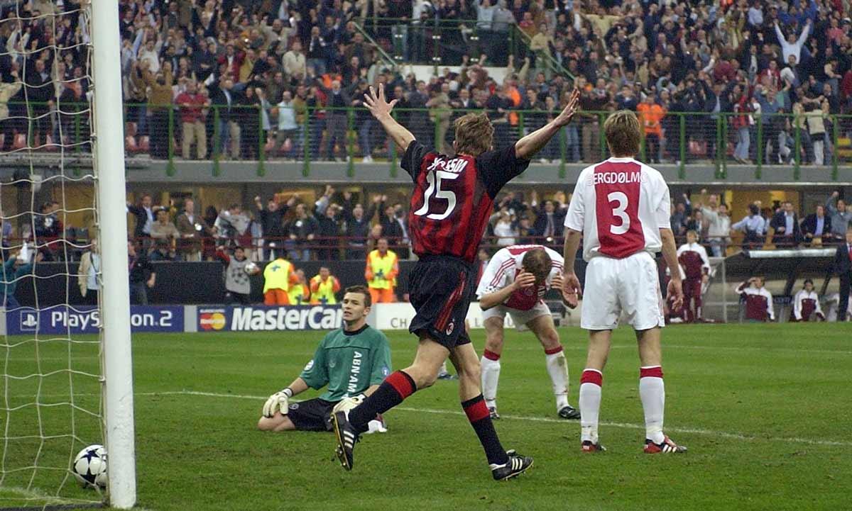 Milan ajax champions 2003