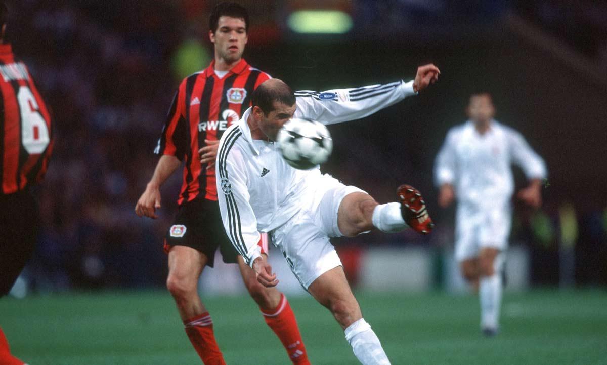 zidane vs Bayern Leverkusen