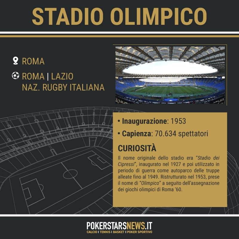 scheda stadio olimpico roma