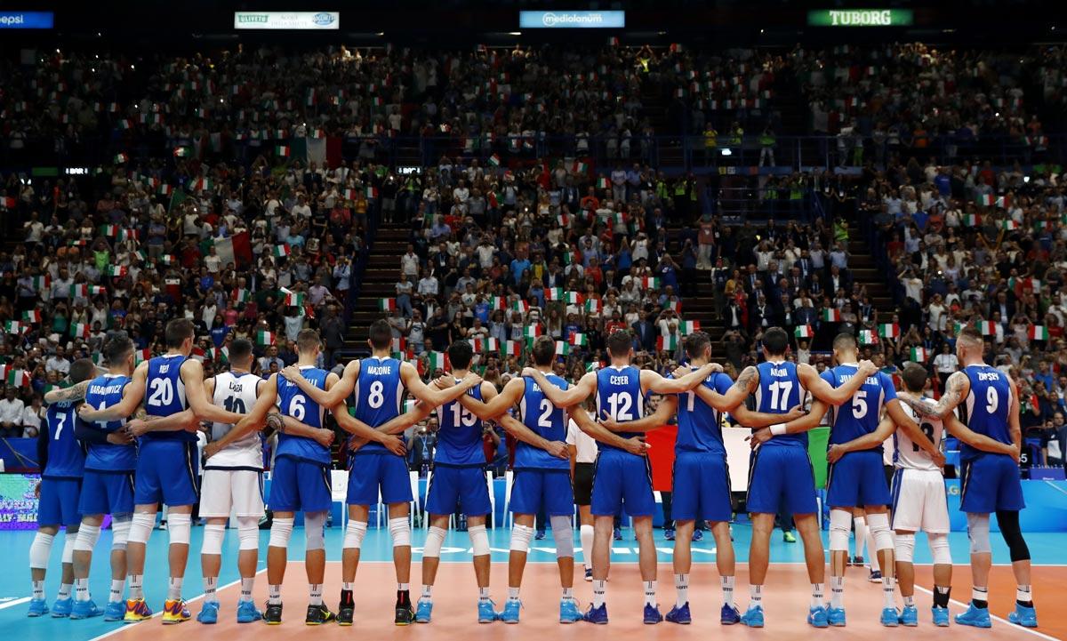nazionale pallavolo italia