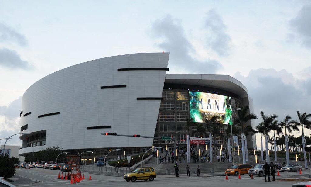 America Airlines Arena  Miami