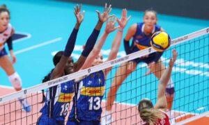 europei volley femminili quarti di finale
