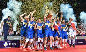italia volley campione d'europa